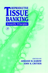 Cover image for Reproductive Tissue Banking