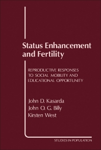 Status Enhancement and Fertility - 1st Edition - ISBN: 9780124003101, 9781483274034