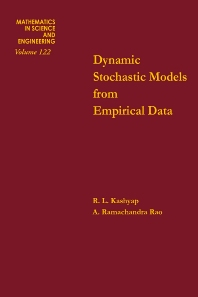 Dynamic Stochastic Models from Empirical Data - 1st Edition - ISBN: 9780124005501, 9780080956312
