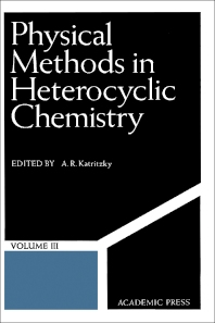 Physical Methods in Heterocyclic Chemistry V3 - 1st Edition - ISBN: 9780124011038, 9780323148504