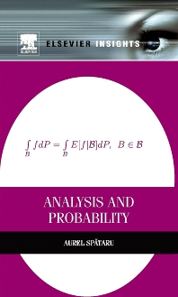 Analysis and Probability, 1st Edition,Aurel Spataru,ISBN9780124016651