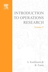 Cover image for Introduction to Operations Research