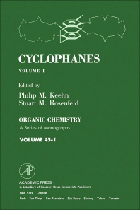 Cyclophanes  - 1st Edition - ISBN: 9780124030015, 9780323152563