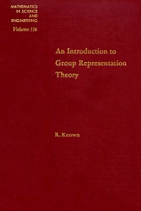 Cover image for An Introduction to Group Representation Theory