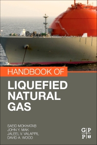 Cover image for Handbook of Liquefied Natural Gas