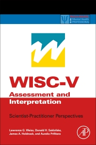 Cover image for WISC-V Assessment and Interpretation