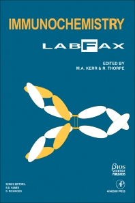 Cover image for Immunochemistry LabFax