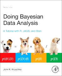 Cover image for Doing Bayesian Data Analysis