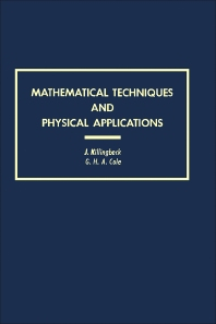 Cover image for Mathematical Techniques and Physical Applications