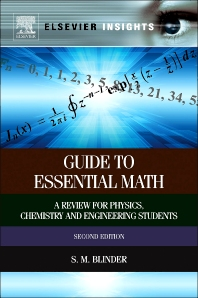 Guide to Essential Math, 2nd Edition,Sy Blinder,ISBN9780124071636