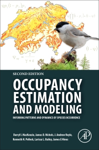 cover of Occupancy Estimation and Modeling - 2nd Edition