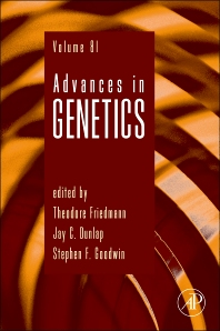Advances in Genetics, 1st Edition,Theodore Friedmann,Jay Dunlap,Stephen F. Goodwin,ISBN9780124076778