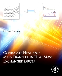 Cover image for Conjugate Heat and Mass Transfer in Heat Mass Exchanger Ducts