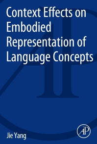 cover of Context Effects on Embodied Representation of Language Concepts - 1st Edition