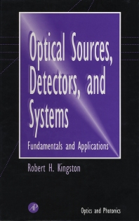 Cover image for Optical Sources, Detectors, and Systems