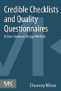 Cover image for Credible Checklists and Quality Questionnaires