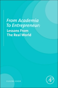 From Academia to Entrepreneur