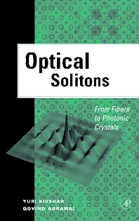 Cover image for Optical Solitons