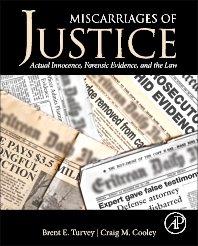 Miscarriages of Justice - 1st Edition - ISBN: 9780124115583, 9780124095281