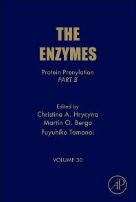 Protein Prenylation, Part B, 1st Edition,Christine Hrycyna,Martin Bergo,Fuyuhiko Tamanoi,ISBN9780124159228
