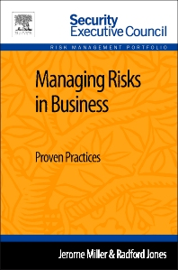 Managing Risks in Business - 1st Edition - ISBN: 9780124165533, 9780124165687