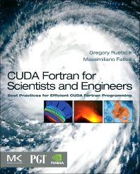 Cover image for CUDA Fortran for Scientists and Engineers