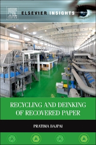 Cover image for Recycling and Deinking of Recovered Paper