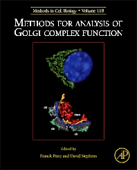 Cover image for Methods for Analysis of Golgi Complex Function