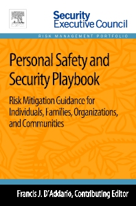 Personal Safety and Security Playbook - 1st Edition - ISBN: 9780124172265, 9780124172364