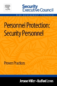 Personnel Protection: Security Personnel - 1st Edition - ISBN: 9780124172296, 9780124172395