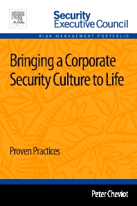 Cover image for Bringing a Corporate Security Culture to Life
