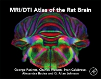 Cover image for MRI/DTI Atlas of the Rat Brain