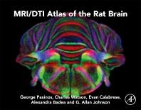 Cover image for MRI/DTI Atlas of the Rat Brain