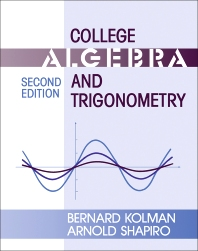 College Algebra and Trigonometry - 2nd Edition - ISBN: 9780124179059, 9781483277134