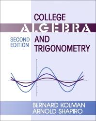 College Algebra And Trigonometry 2nd Edition