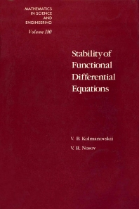 Cover image for Stability of Functional Differential Equations