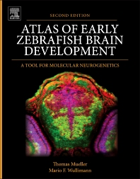 Cover image for Atlas of Early Zebrafish Brain Development