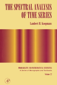 Cover image for The Spectral Analysis of Time Series