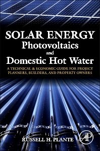 Solar Energy, Photovoltaics, and Domestic Hot Water - 1st Edition - ISBN: 9780124201552, 9780124202139