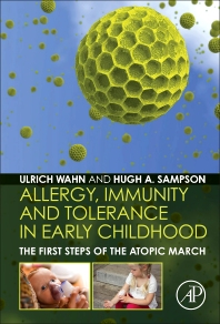 Cover image for Allergy, Immunity and Tolerance in Early Childhood