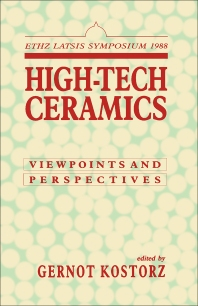 High-Tech Ceramics - 1st Edition - ISBN: 9780124219502, 9781483288772
