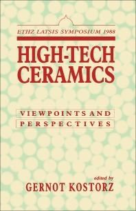 Cover image for High-Tech Ceramics