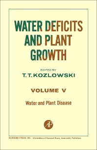 Water and Plant Disease - 1st Edition - ISBN: 9780124241558, 9780323155175