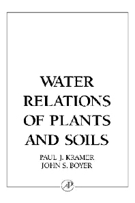 Cover image for Water Relations of Plants and Soils