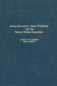 Cover image for Initial-Boundary Value Problems and the Navier-Stokes Equations