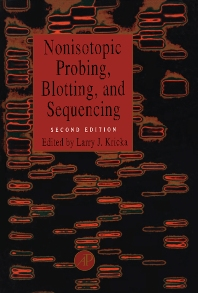 Cover image for Nonisotopic Probing, Blotting, and Sequencing