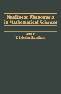 Cover image for Nonlinear Phenomena in Mathematical Sciences