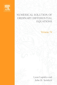 Cover image for Numerical Solution of Ordinary Differential Equations