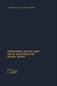 Superionic Solids And Solid Electrolytes Recent Trends - 1st Edition - ISBN: 9780124370753, 9780323142939