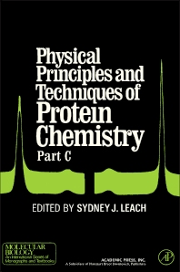 Physical Principles and Techniques of Protein Chemistry Part C - 1st Edition - ISBN: 9780124401037, 9780323141147